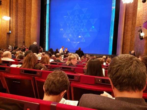 Metropolitan Opera House - Lincoln Center, secção: Orchestra, fila: O, lugar: 20