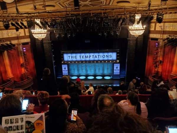 Imperial Theatre, secção: Rear Mezzanine 3, fila: E, lugar: 5