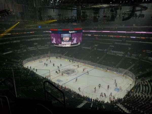 Staples Center, secção: 331, fila: 5, lugar: 10