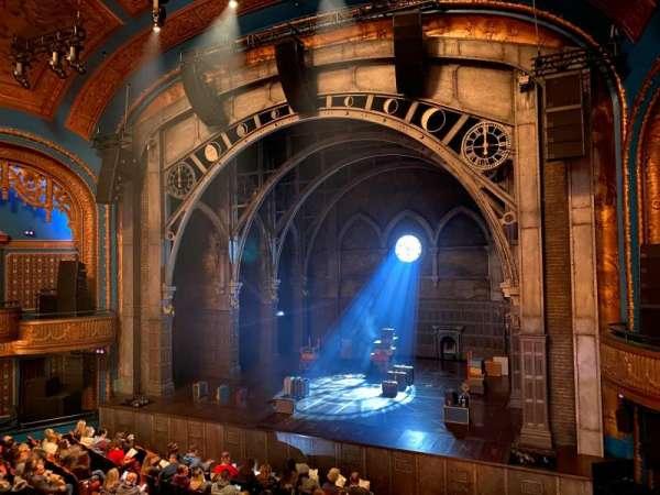 Curran Theater, secção: Loge, fila: A, lugar: 8
