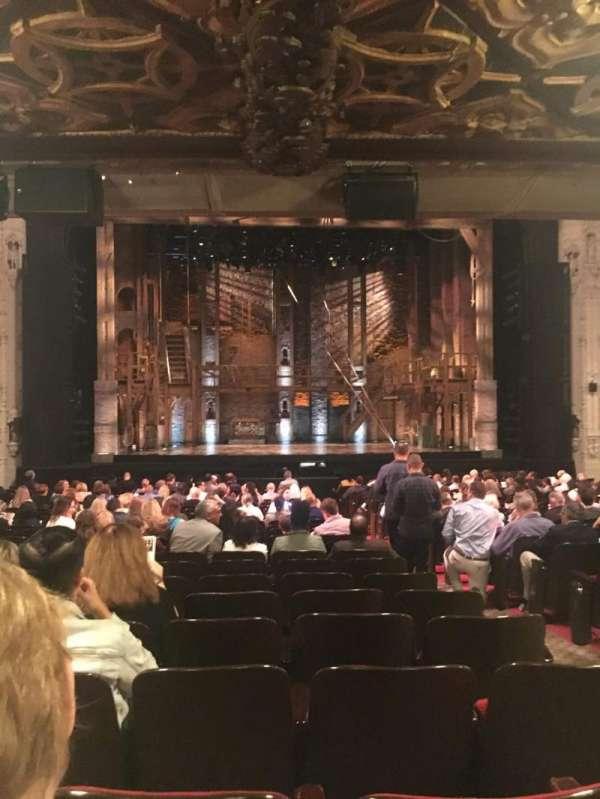 Orpheum Theatre (San Francisco), secção: Orchestra LC, fila: Z, lugar: 105