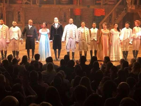 Richard Rodgers Theatre, secção: Orchestra C, fila: M, lugar: 106
