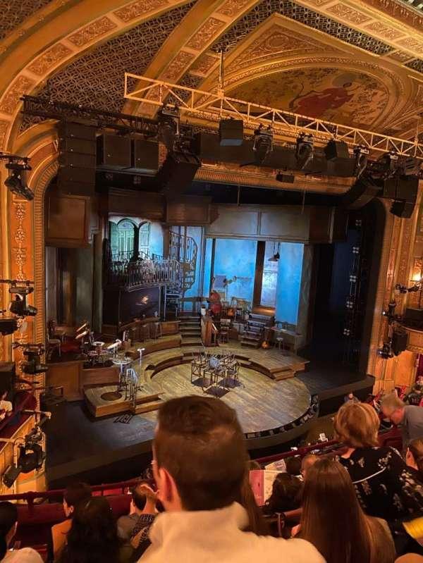 Walter Kerr Theatre, secção: Mezzanine L, fila: F, lugar: 19