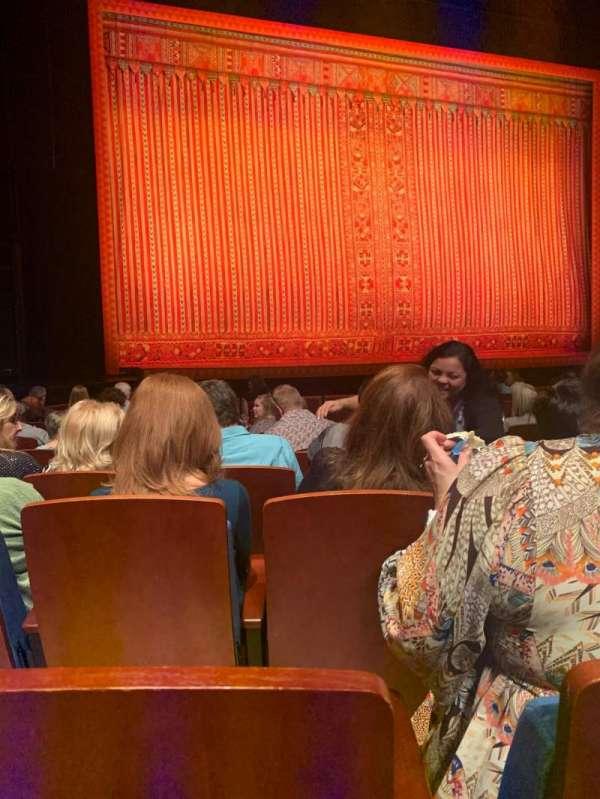 Au-Rene Theatre at the Broward Center, secção: Orchestra L, fila: N, lugar: 5