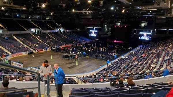 Blue Cross Arena, secção: 218, fila: J, lugar: 13