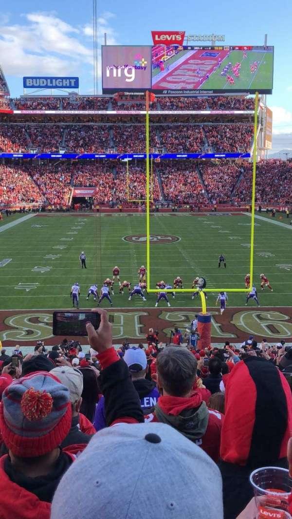 Levi's Stadium, secção: 103, fila: 26, lugar: 22