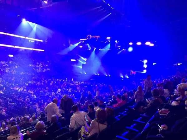 Bridgestone Arena, secção: 104, fila: F, lugar: 21