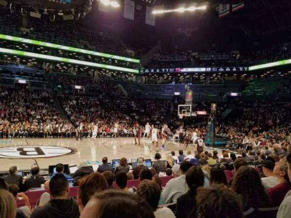 Barclays Center, secção: 8, fila: 5, lugar: 12