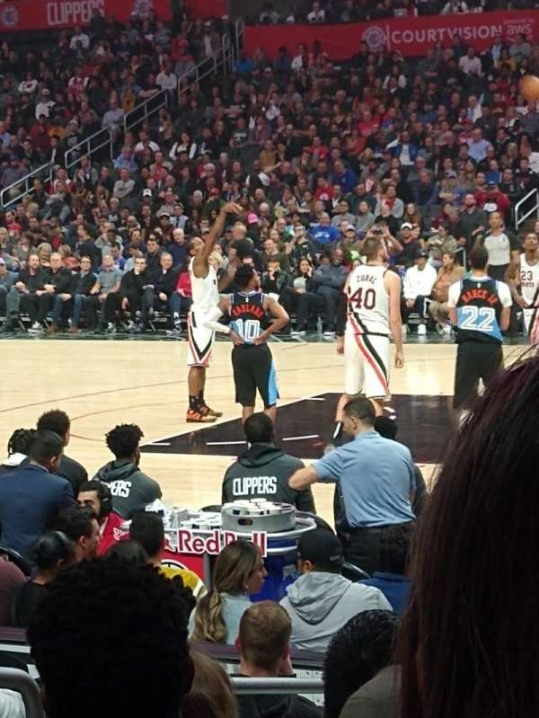 Staples Center, secção: 118, fila: 20, lugar: 7