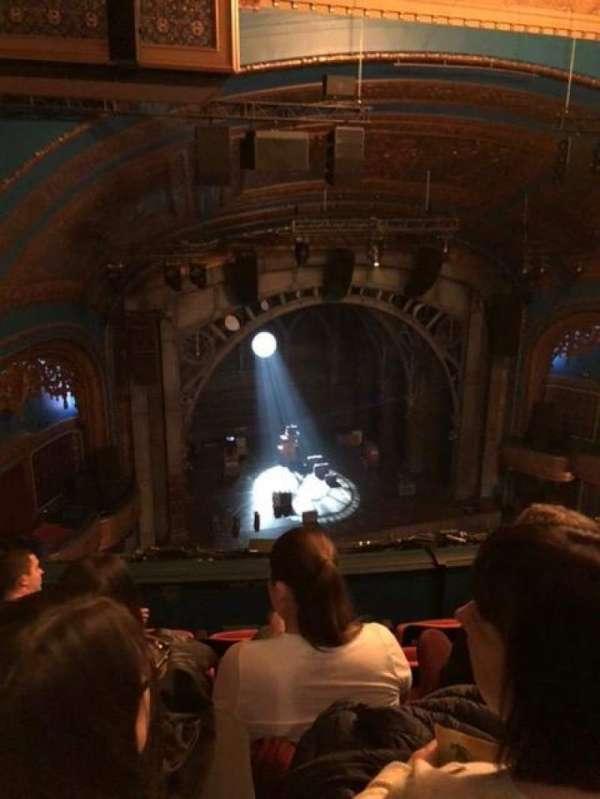 Curran Theater, secção: Balcony, fila: E, lugar: 11