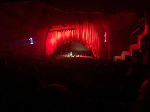 Radio City Music Hall, secção: 1, fila: P, lugar: 103