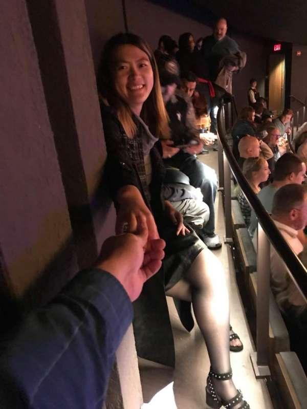 Winspear Opera House, secção: UTIERC, fila: J, lugar: 10-11