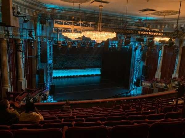 Broadhurst Theatre, secção: Mezzanine L, fila: L, lugar: 15