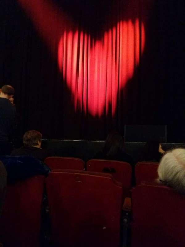 Orpheum Theatre (Boston), secção: Orchestra RC, fila: GG, lugar: 106