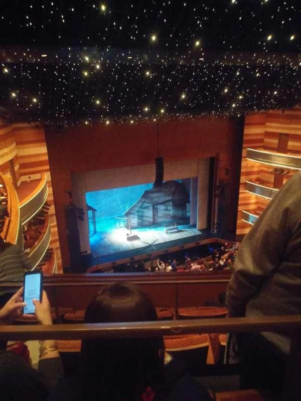 Eccles Theater, secção: 3TL, fila: D, lugar: 48