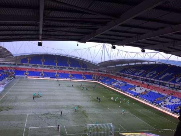 University of Bolton Stadium, secção: FU2, fila: 13, lugar: 113