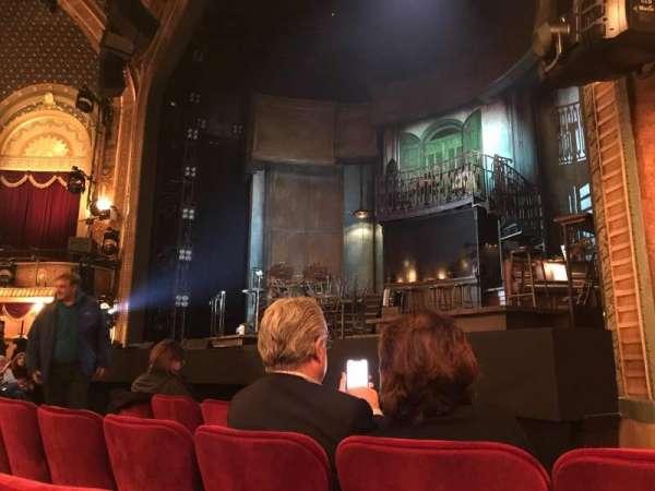 Walter Kerr Theatre, secção: Orchestra R, fila: E, lugar: 14