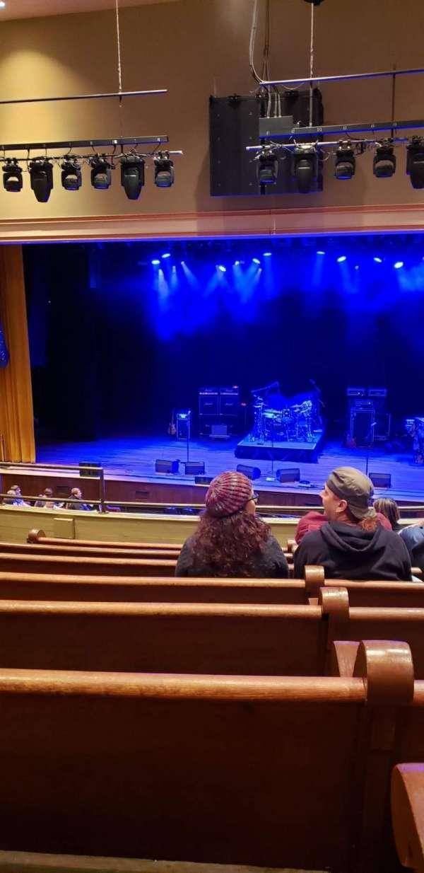 Ryman Auditorium, secção: Bal-12, fila: H, lugar: 8