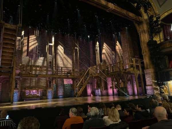 Richard Rodgers Theatre, secção: Orchestra L, fila: F, lugar: 3
