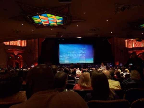 Fox Theatre (Atlanta), secção: Orchestra L, fila: JJ, lugar: 61