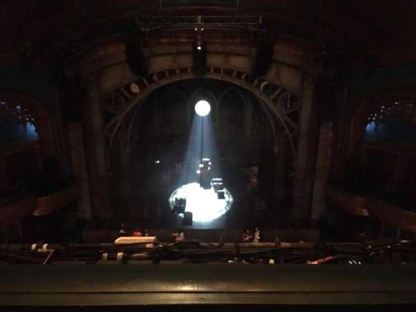 Curran Theater, secção: Balcony C, fila: B, lugar: 108
