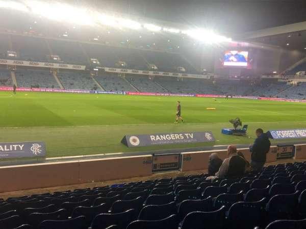 Ibrox Stadium , secção: SW3, fila: M, lugar: 0238