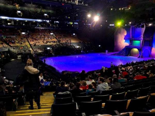 Scotiabank Arena, secção: 121, fila: 20, lugar: 17