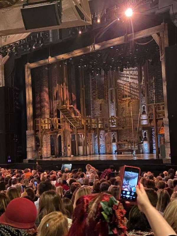 Orpheum Theatre (San Francisco), secção: Orchestra R, fila: Y, lugar: 28