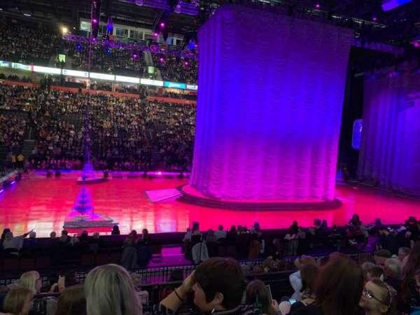 Manchester Arena, secção: 113, fila: L, lugar: 16
