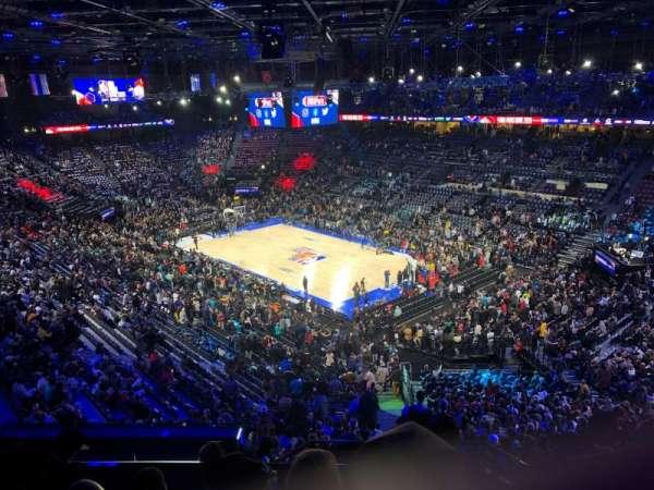 AccorHotels Arena, secção: Balcon S, fila: 89, lugar: 16