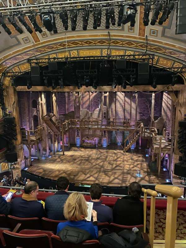 Richard Rodgers Theatre, secção: Front Mezzanine C, fila: E, lugar: 101