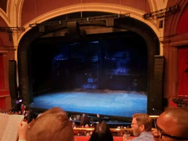Broadway Theatre - 53rd Street, secção: Front Mezzanine RC, fila: C, lugar: 121