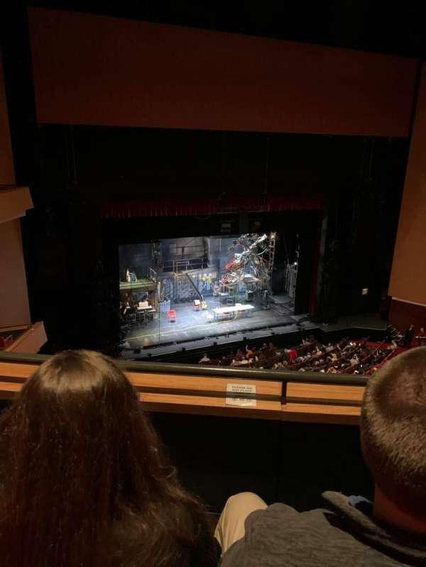 Durham Performing Arts Center, secção: Balcony 8, fila: B, lugar: 308