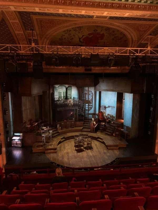 Walter Kerr Theatre, secção: Mezzanine C, fila: G, lugar: 112