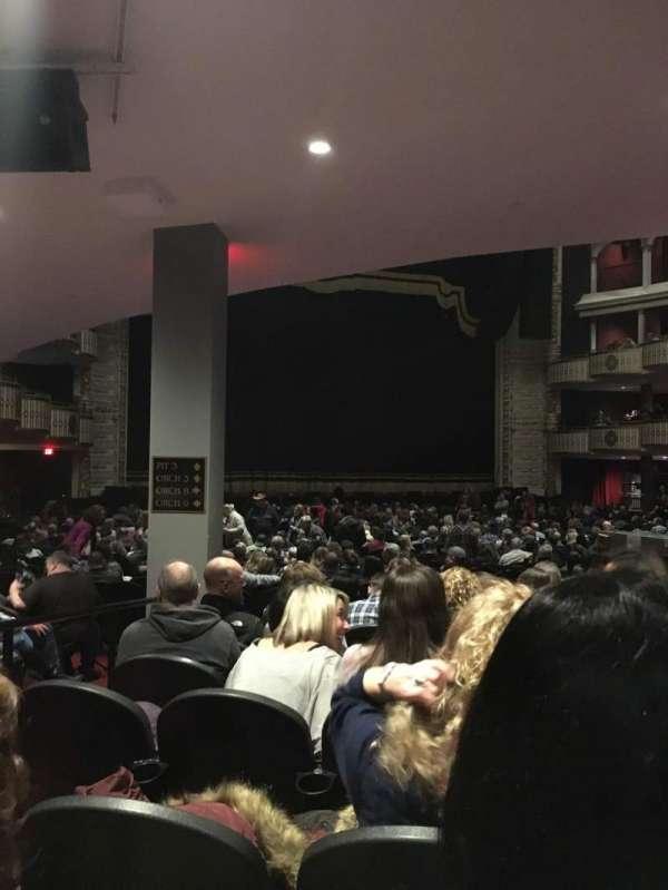The Met Philadelphia, secção: Orchestra 8, fila: H, lugar: 7