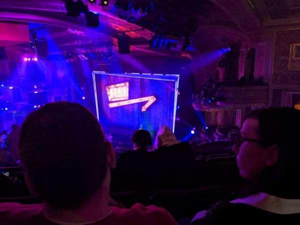 Winter Garden Theatre, secção: Mezzanine R, fila: J, lugar: 30