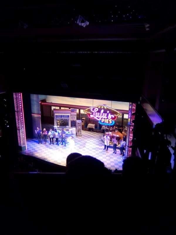 Adelphi Theatre, secção: Upper circle, fila: C, lugar: 8