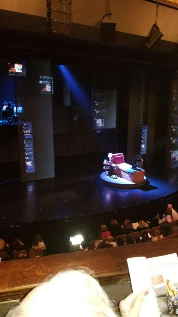 Music Box Theatre, secção: Mezzanine L, fila: B, lugar: 9