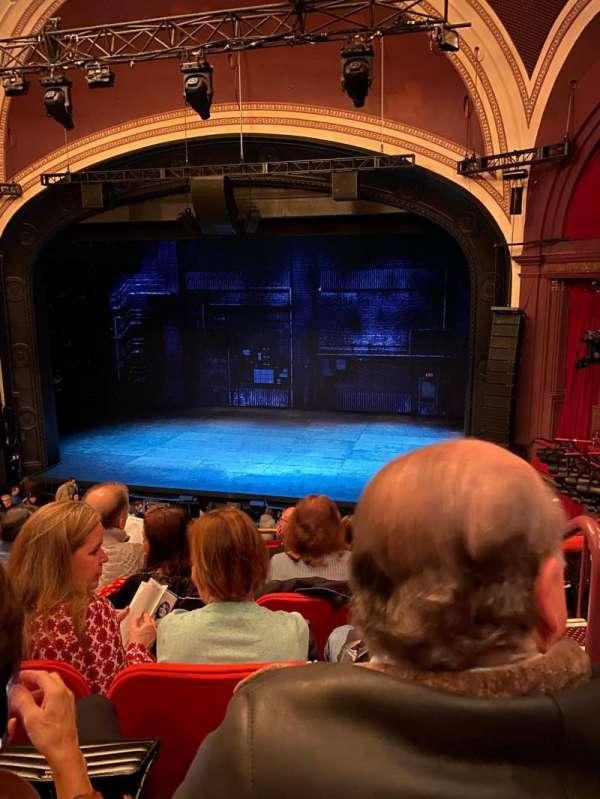 Broadway Theatre - 53rd Street, secção: Front Mezzanine RC, fila: F, lugar: 123