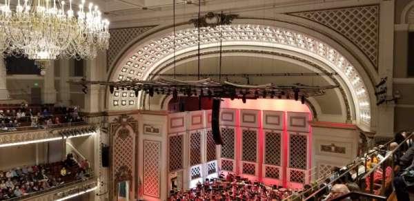 Cincinnati Music Hall, secção: Gallery 5, fila: F, lugar: 515
