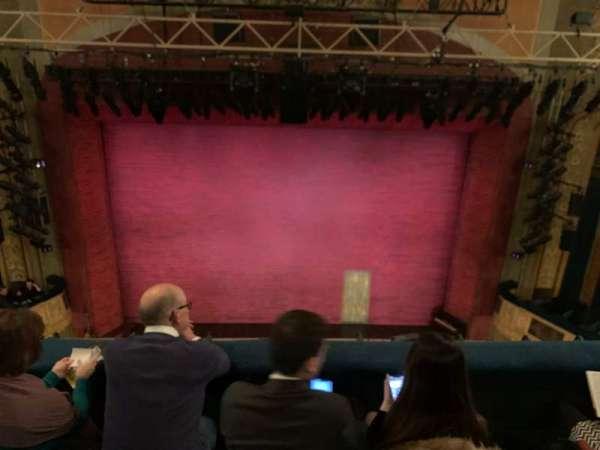 Shubert theatre, secção: Balcony C, fila: C, lugar: 108