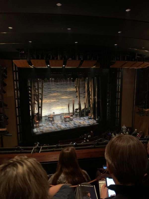 The Kennedy Center Eisenhower Theater, secção: Balcony, fila: C, lugar: 11