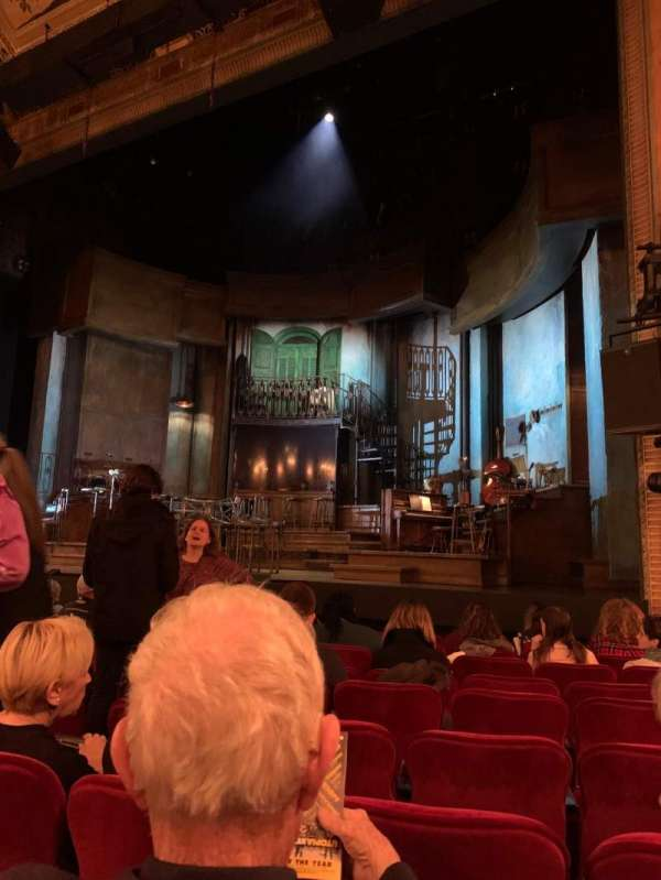 Walter Kerr Theatre, secção: Orchestra R, fila: K, lugar: 8