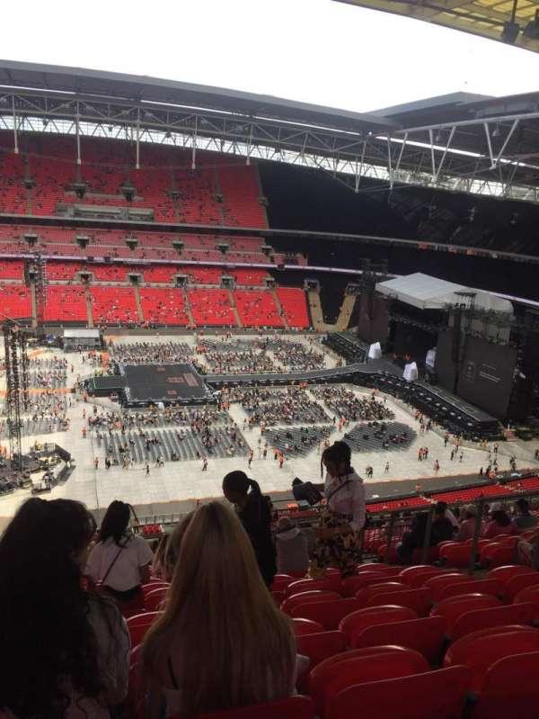 Wembley Stadium, secção: 501, fila: 25, lugar: 23