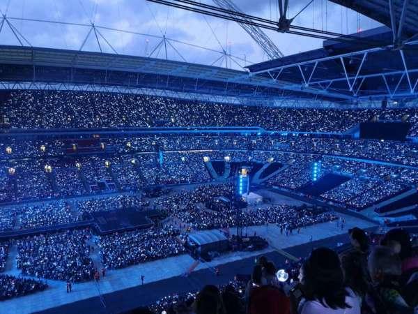 Wembley Stadium, secção: 528, fila: 16, lugar: 54