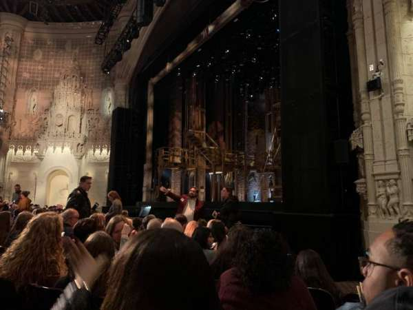 Orpheum Theatre (San Francisco), secção: Orchestra R, fila: J, lugar: 22