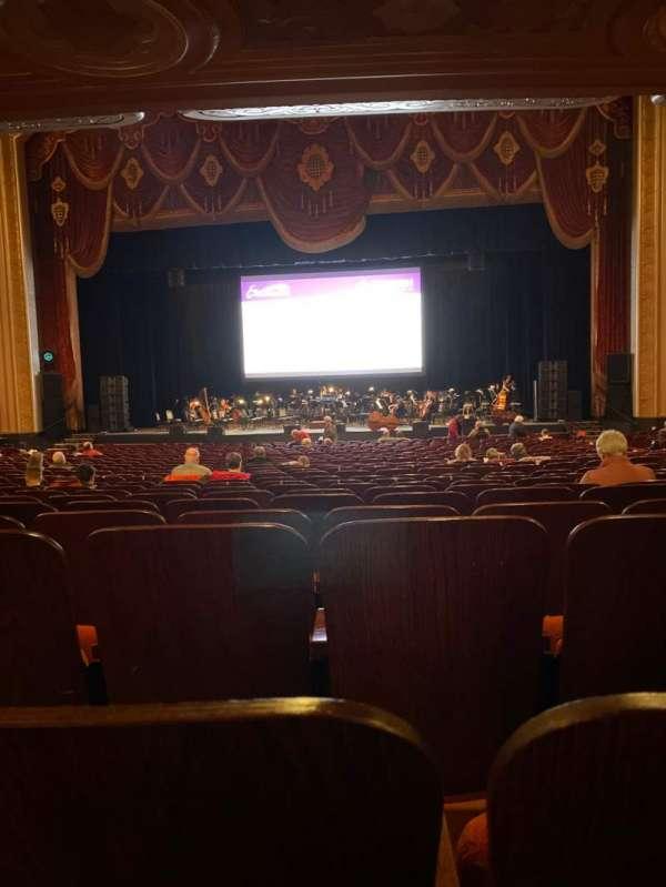 Warner Theatre (Erie), secção: 103, fila: Zz, lugar: 22