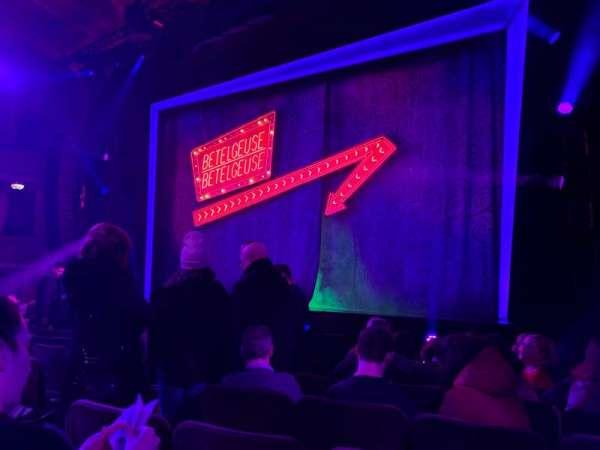 Winter Garden Theatre, secção: Orchestra R, fila: H, lugar: 8