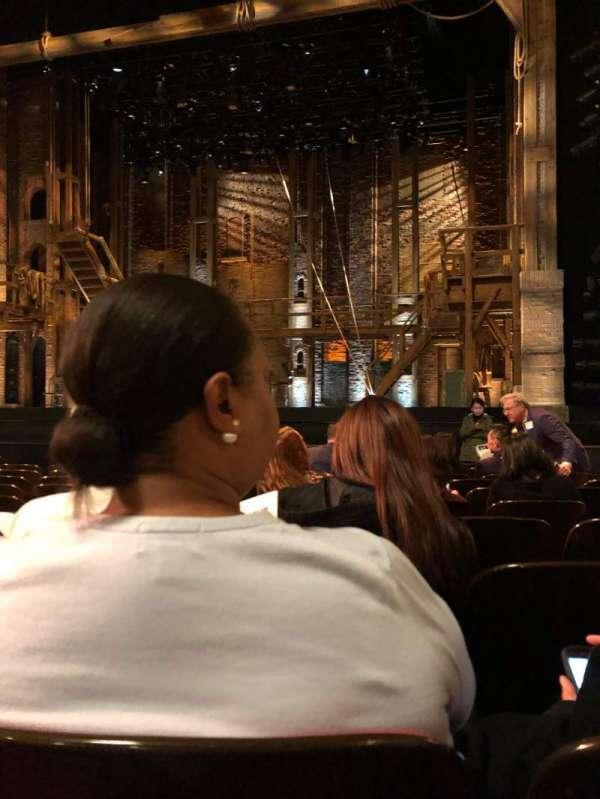 Orpheum Theatre (San Francisco), secção: Orchestra R, fila: L, lugar: 12