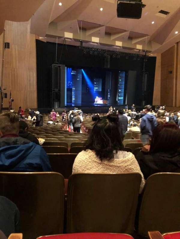 Keller Auditorium, secção: Orchestra A, fila: CC, lugar: 3